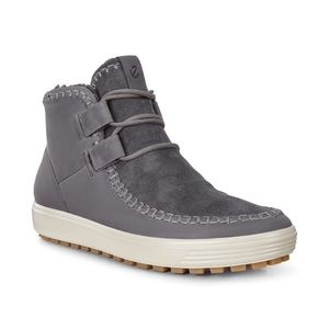 Ecco soft tread ankle boot leather sneaker 8.5